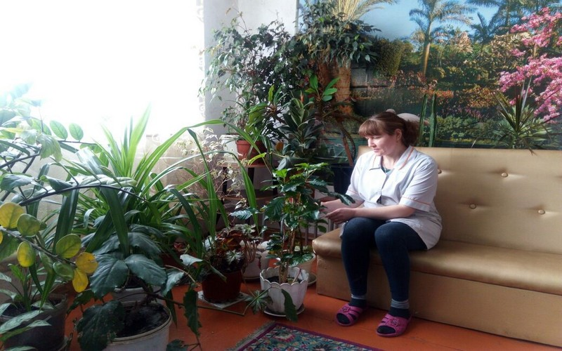 Условия проживания в пансионате Старобеловский